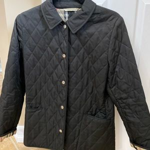 Black authentic Burberry jacket